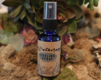 Cooling Spray| Peppermint lavender essential oil spray