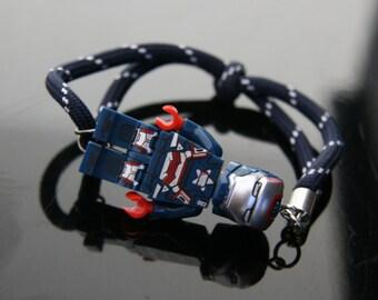 Lego Bracelet (Captain America)