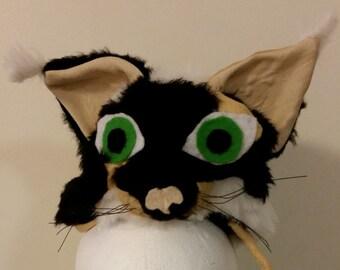 Tuft-Ear Calico Cat Hat
