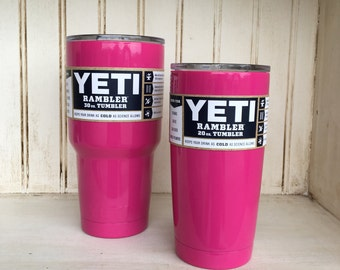 Hot Pink 20oz or 30oz Cup-