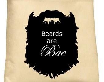 Beards are Bae Tote