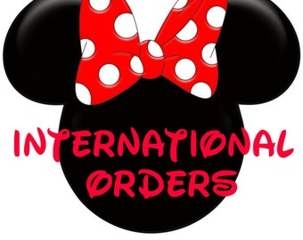 International Purchases only~ Quantities of 2