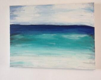 "Original Acrylic Painting of ""Horizon"""