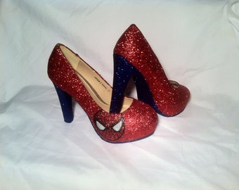 Spiderman inspired Heels * *  * SIZES 3-8