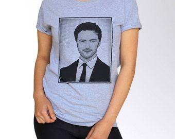 James McAvoy T Shirt - Gray - S M L