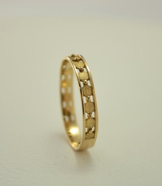 Small Ring Thin Wedding Band Mens Womens By Weddingringsstore