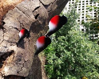 Robin Red Breast bird MALE aluminium- no rust