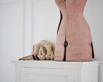Very shabby unique vintage mannequin