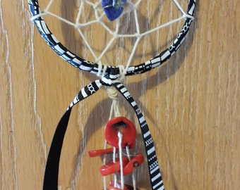 Lapis Lazuli and Red Jasper Dream Catcher