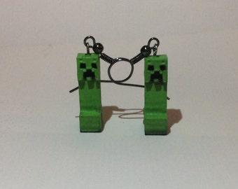 Creeper earrings
