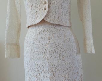1960's lace suit