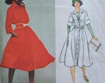 Vogue 1386 Designer Misses' Dress by Anne Klein UNCUT Size 16