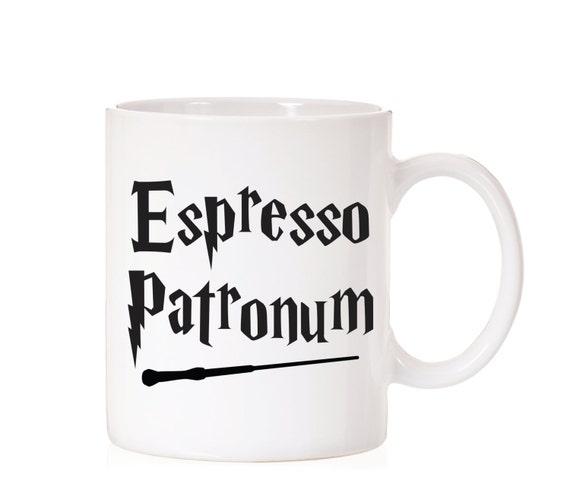 Espresso Patronum Mug | Harry Potter | Harry Potter Mug | Harry Potter Inspired  | Hogwarts | Fandom