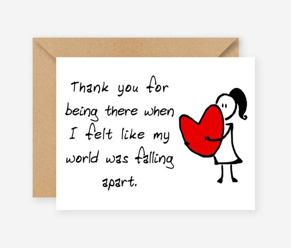 Thank You For Your Birthday Wishes For Being There: Thank You For Being There Greeting Cards Funny Cards Blank