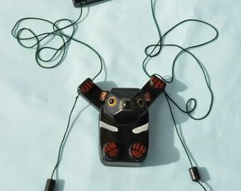 Tasmanian Devil/gift/handmade with wood/christmas/new years