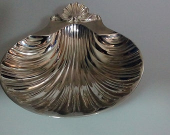 Silver Plated Shell Bowl