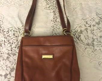 Vintage Capezio Leather Purse / Shoulder Bag