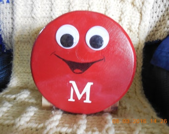 Red M&M Birdhouse