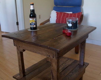 Pallet End Table/ Night Stand
