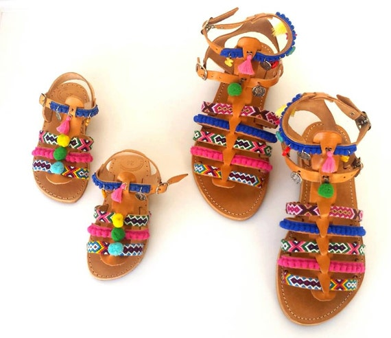 Princess Moana Leather Hand Made Sandals