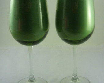 16 Ounce Double Scented Honeydew Melon Soy Blend Candle in Wine Glass