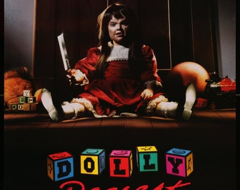 Dolly Dearest (1991) Vintage One Sheet Movie Poster - FREE U.S. SHIPPING
