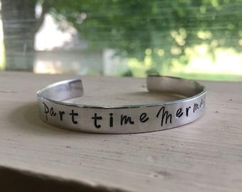 Mermaid Bracelet - Silver - Mermaid - Part Time