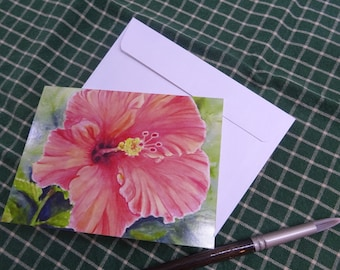 Assorted Floral Note Cards, Set of 5 Prints