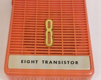 OMEGAS DELUXE 8 Transistor Radio