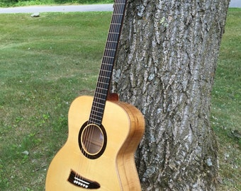 Handmade OM Maple Acoustic Guitar