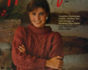 Country Handcrafts Magazine, Holiday 1987