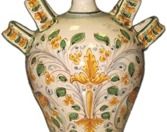 Ceramic vase ceramic Caltagirone decorative italian