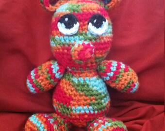 Adorable Amigurumi Teddy Bear