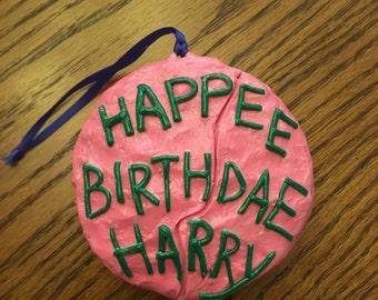 Harry Potter Birthday Cake Ornament