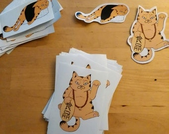 Cat Stickers!