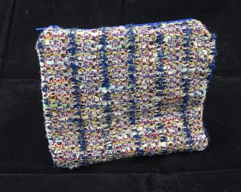 Coin purse made from fabric offcuts