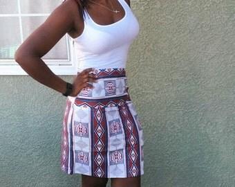 Dashiki High Waist Pencil Skirt