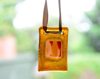 sun catcher orange