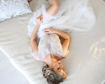Wedding lace dress - Angel -  unique wedding gown. Bridal gown. Bohemian wedding dress. Bridesmaid dress. Fairy wedding dress