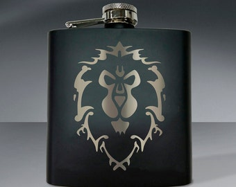 Warcraft Alliance Flask - 6 oz. Flask
