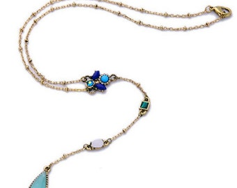 Romantic Jeweled Necklace