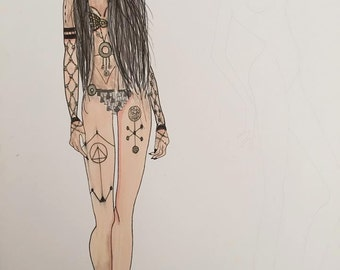 Enchantress Illustration