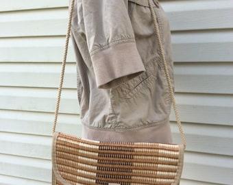 Palizzio Straw Bag, Sisal bag, Vintage