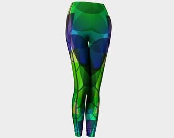 Leaf leggings, forest leggings, tree leggings