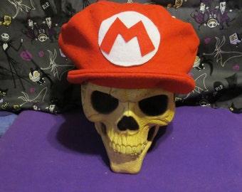 Mario Inspired Costume Hat
