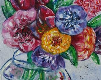 Original Artwork: Acrylic Painting - Spring Itself
