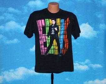 Elvis Jailhouse Rock Black Tshirt Vintage 1991