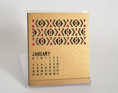 On Sale! 2016 Laser Cut Desk Calendar with CD case