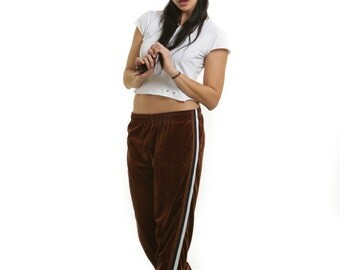 Jazz Sport Velour Athletic Pants