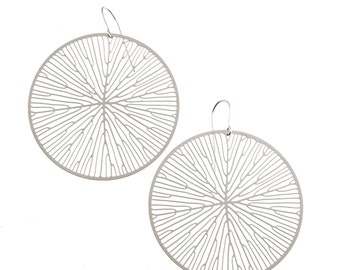 Peltate Earrings (stainless steel)